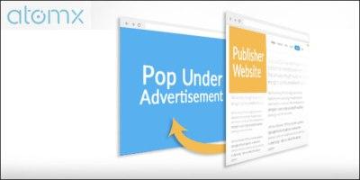 Atomx Ad Exchange Popunder Popup