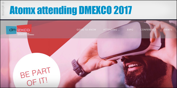 Atomx at DMEXCO 2017
