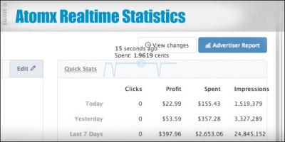 atomx-realtime-statistics