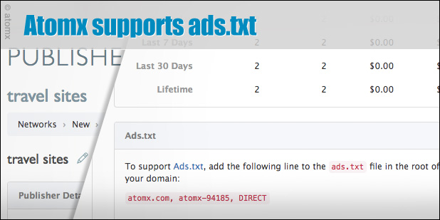Atomx supports ads.txt