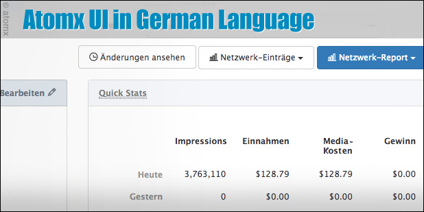 atomx german deutsch