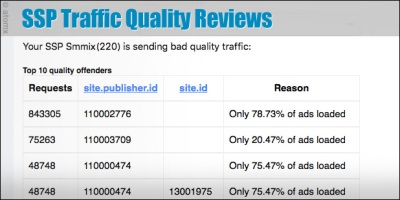 atomx ssp traffic quality reviews