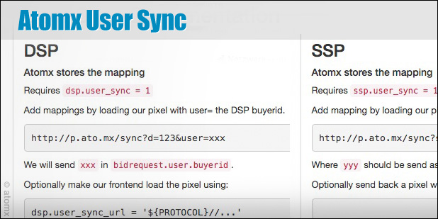 atomx user sync cookie sync